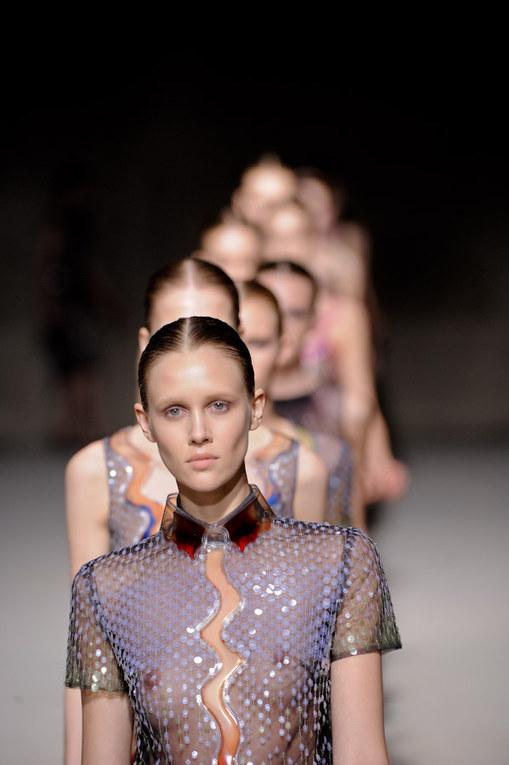 Christopher Kane auf der London Fashion Week Herbst/Winter 2011/12