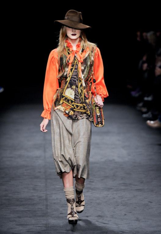Sfilata Angelo Marani - Milano Moda Donna A/I 2011