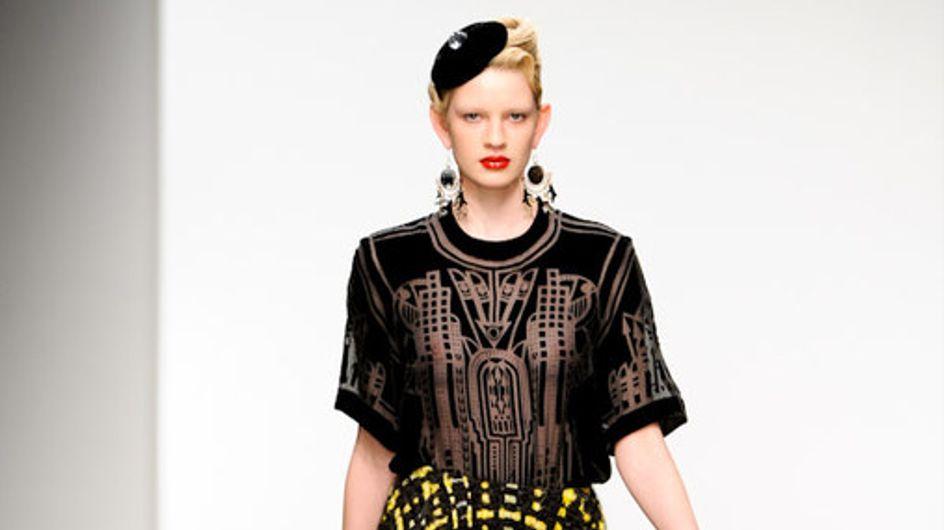Holly Fulton - London Fashion Week otoño invierno 2011 2012