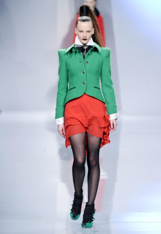 Sfilata Roccobarocco - Milano Moda Donna A/I 2011
