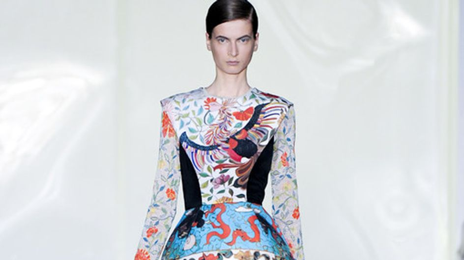 Mary Katrantzou LFW a/w 2011 photo catwalk