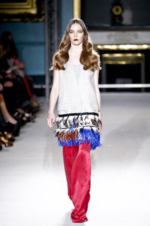 Roksanda Ilincic LFW a/w 2011 - London Fashion Week 2011
