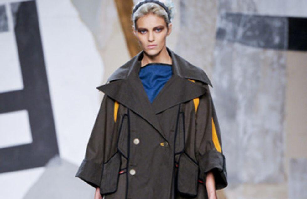 Fendi auf der Milano Moda Donna Herbst/Winter 2011/12