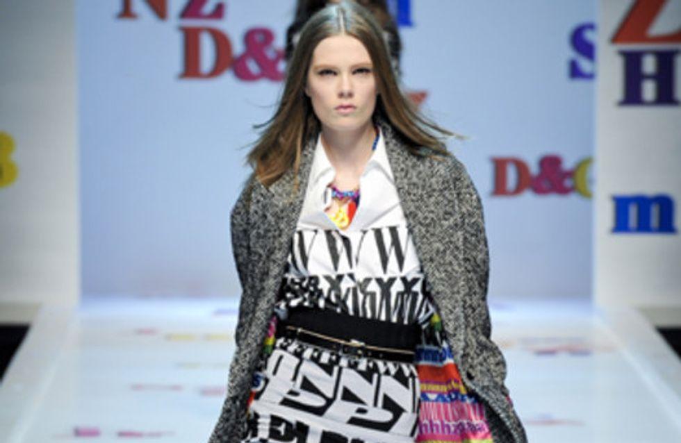 D&G   Milan Fashion Week a/w 2011
