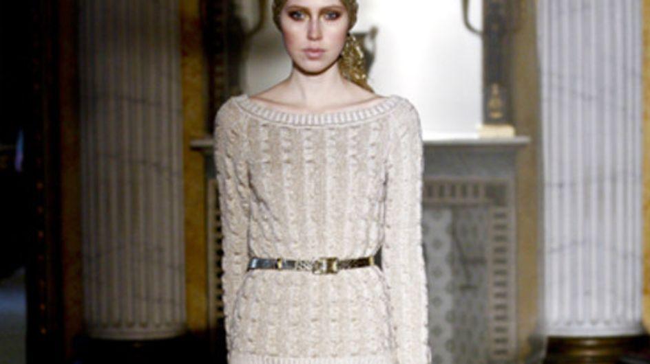 Sfilata Luisa Beccaria - Milano Moda Donna A/I 2011