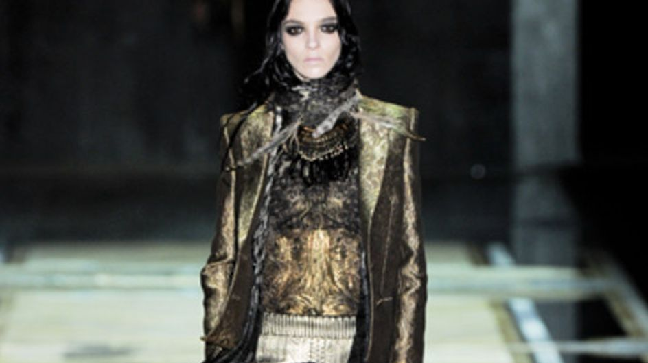 Roberto Cavalli - Milán Fashion Week otoño invierno 2011-2012