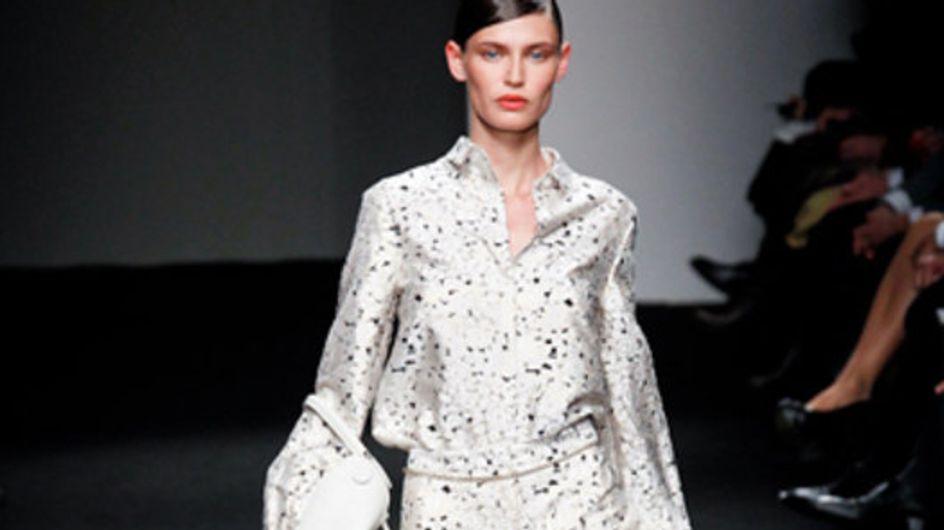 Sfilata Brioni - Milano Moda Donna A/I 2011
