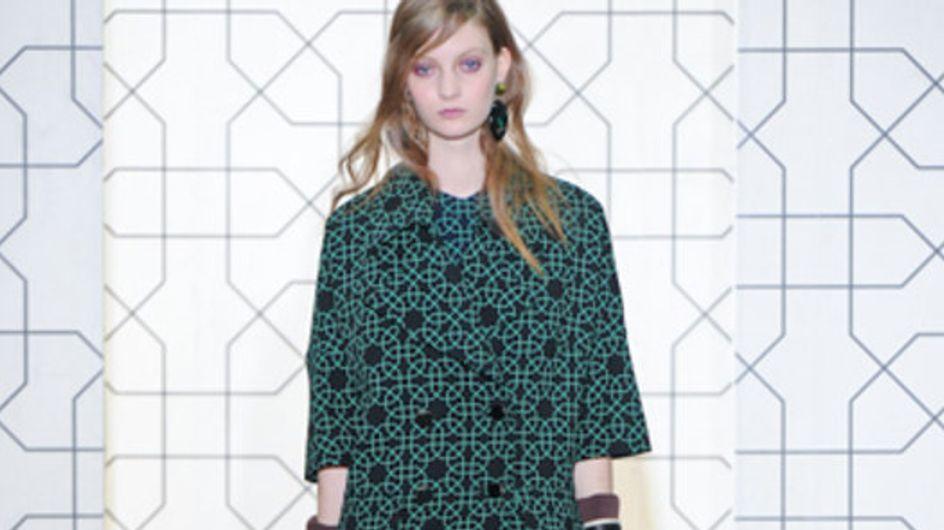 Marni - Milán Fashion Week otoño invierno 2011-2012