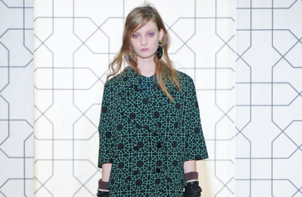 Marni: Milano Moda Donna Herbst/Winter 2011/12