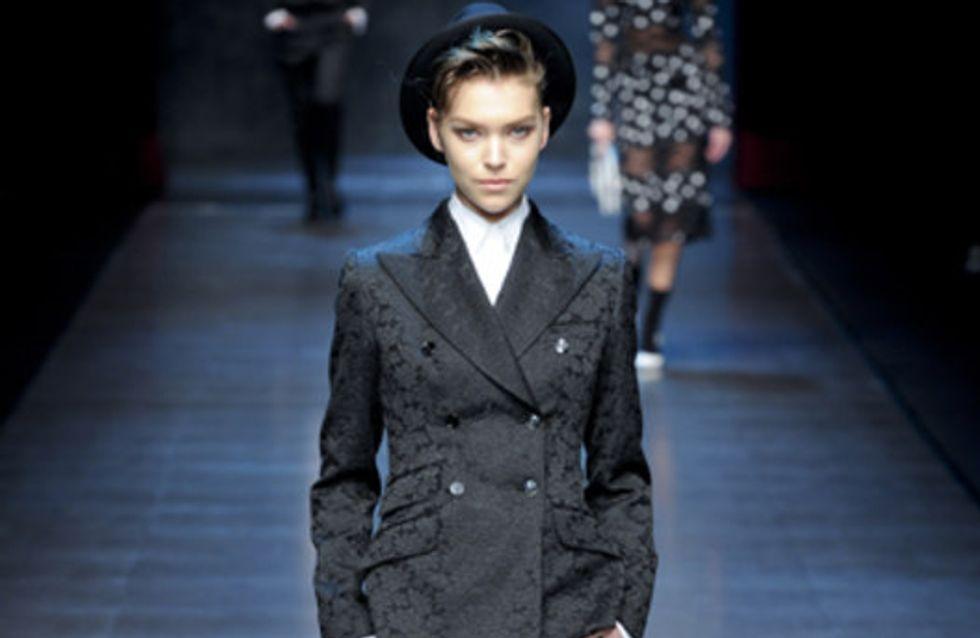 Dolce & Gabbana | Milan Fashion Week a/w 2011