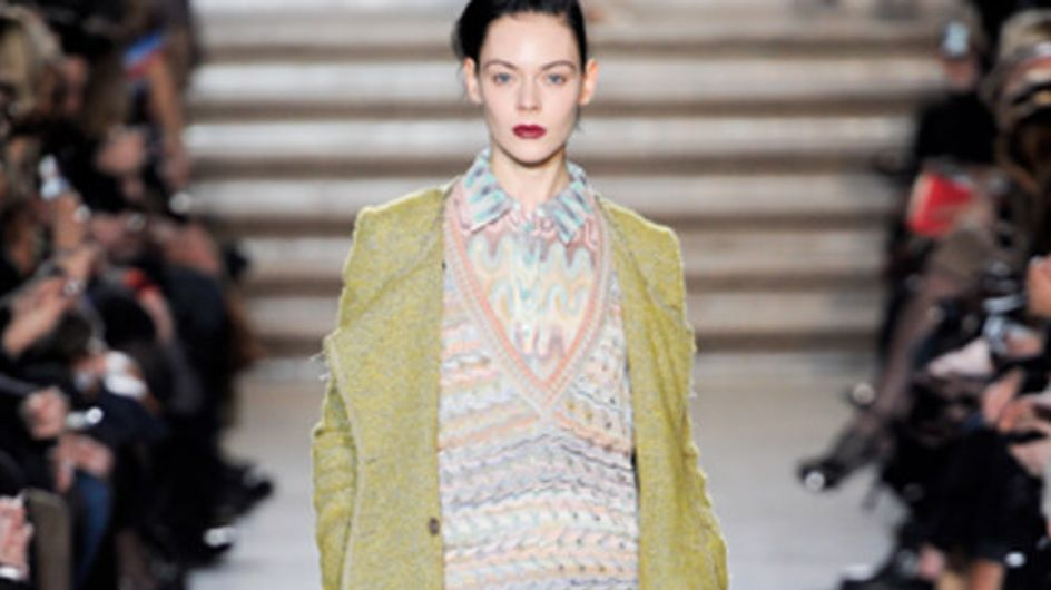 Missoni: Milano Moda Donna Herbst/Winter 2011/12