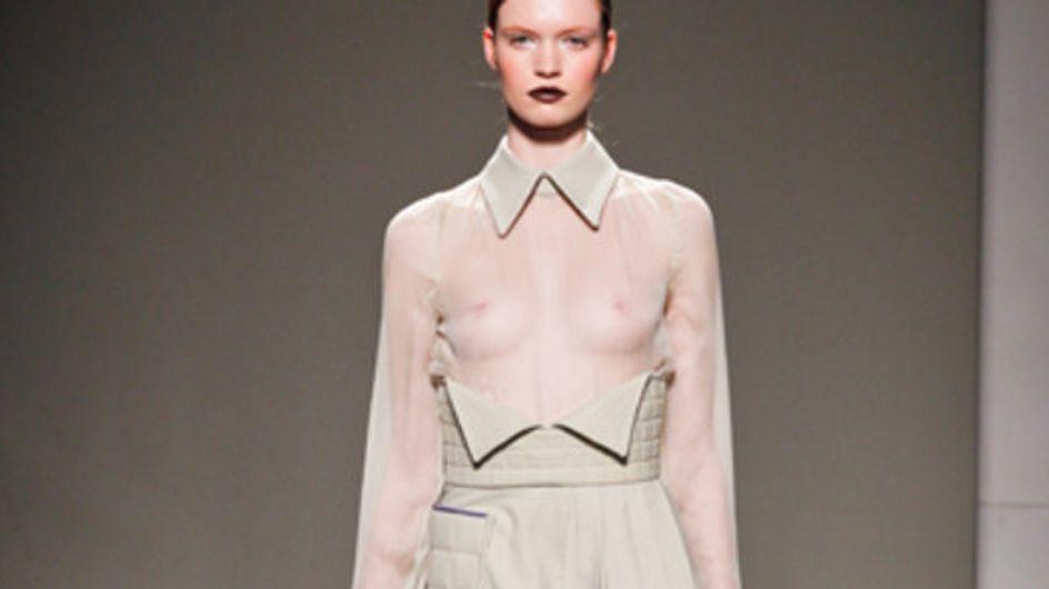 Sfilata Gaetano Navarra - Milano Moda Donna A/I 2011