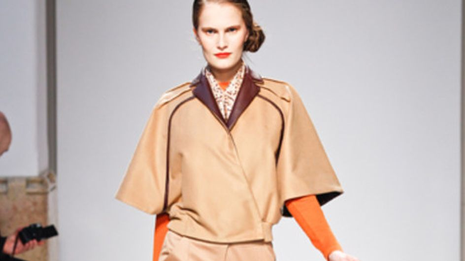 Mila Schon - Milán Fashion Week otoño invierno 2011-2012