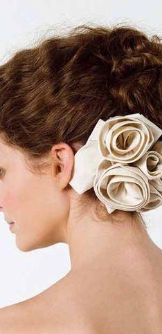 Peinados de novia ideales