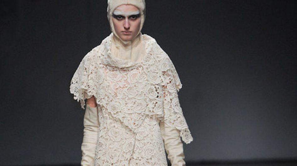 Peachoo Krejberg Paris Fashion Week a/w catwalk photos 2011
