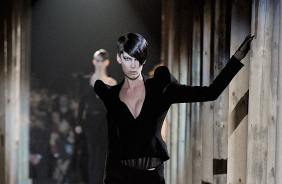 Thierry Mugler Paris Fashion Week a/w catwalk photos 2011