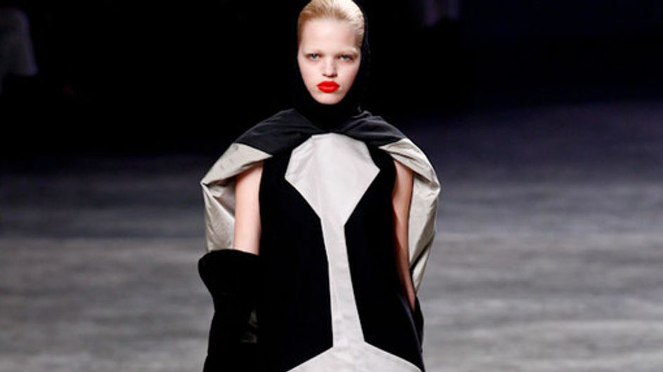 Rick Owens Paris Fashion Week a/w catwalk photos 2011