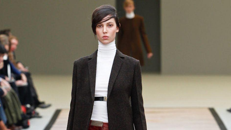 Céline Paris Fashion Week a/w catwalk photos 2011