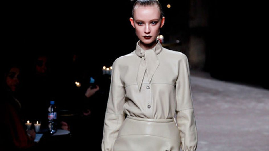 Loewe Paris Fashion Week a/w catwalk photos 2011