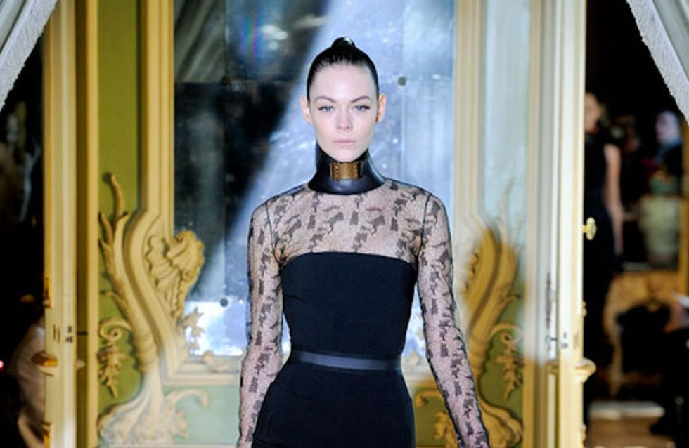 Stella McCartney Paris Fashion Week a/w catwalk photos 2011