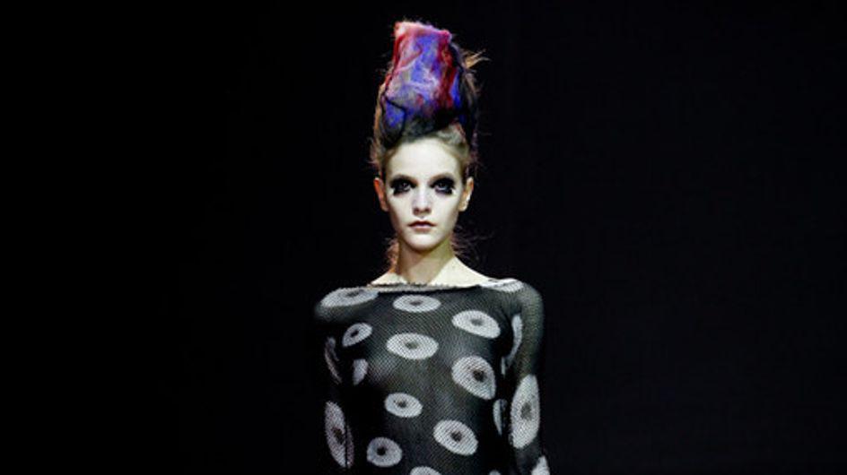 Yohji Yamamoto Paris Fashion Week a/w catwalk photos 2011