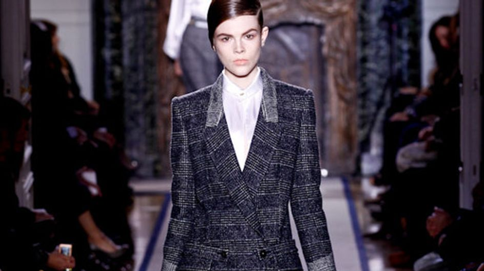 Yves Saint Laurent Paris Fashion Week a/w catwalk photos 2011
