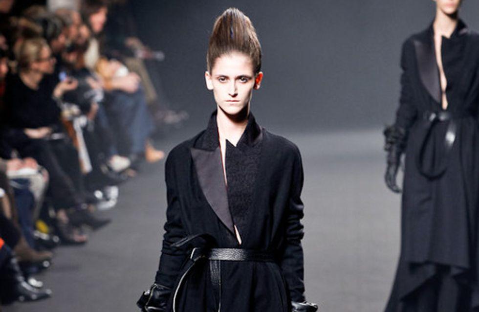 Haider Ackermann: Fashion Week Paris Prêt-à-Porter HW 2011