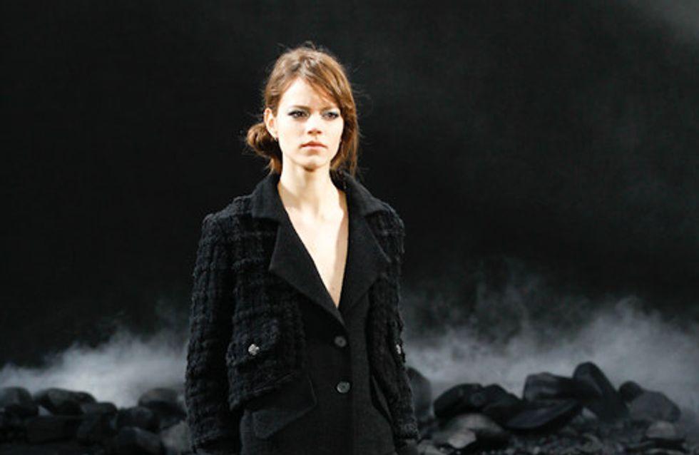Chanel: coole Eleganz auf der Fashion Week Paris HW 2011
