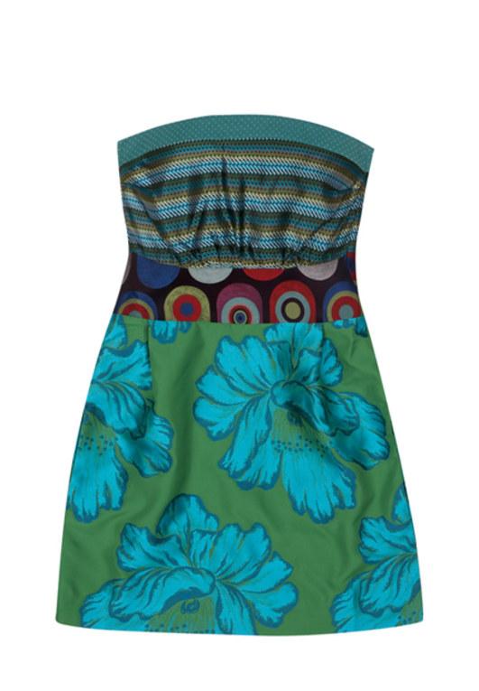 Kleid mit Blümchen-Muster von Desigual