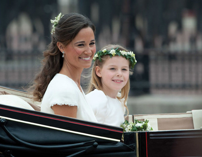 Pippa Middleton, star del matrimonio di Kate e William