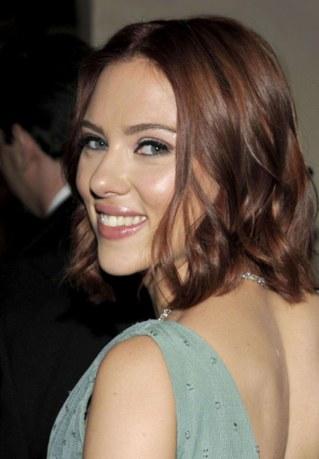 Strähnen frisuren rote Dunkelrote Haare