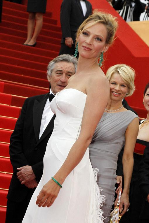 Uma Thurman at Cannes Film Festival 2011