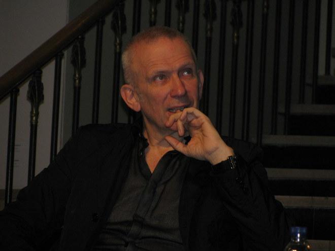 Jean-Paul Gaultier lors de la conférence de Presse au MBA