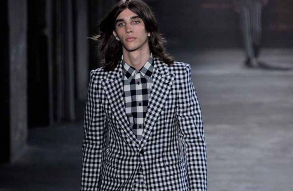 Alexander McQueen - Milano Moda Uomo 2012