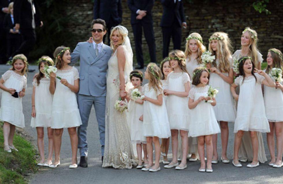 Kate Moss: So romantisch heiratet sie ihren Jamie