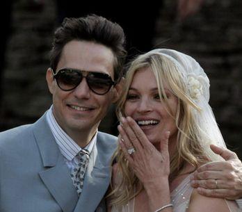 Le nozze rock di Kate Moss
