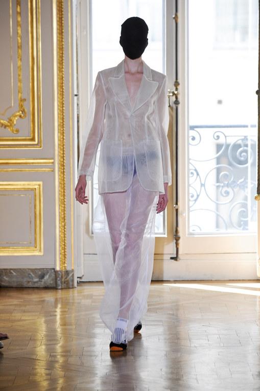Maison Martin Margiela défilé HC automne hiver 2011-2012 à Paris