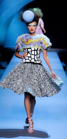Dior façon couture ....