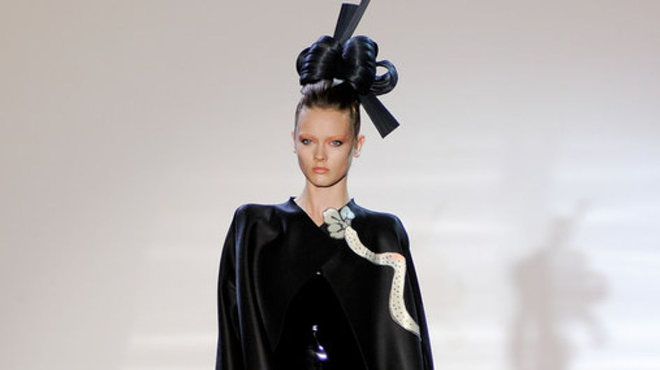 Haute Couture: Giorgio Armani Privé auf der Fashion Week Paris