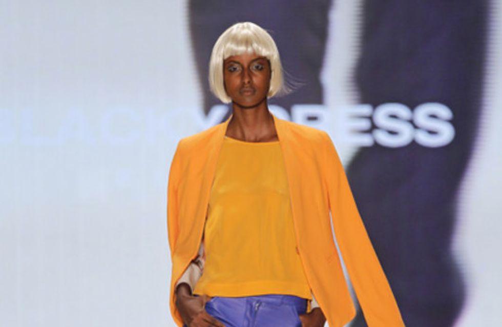 Blacky Dress: Mercedes-Benz Fashion Week Berlin Frühjahr/Sommer 2012