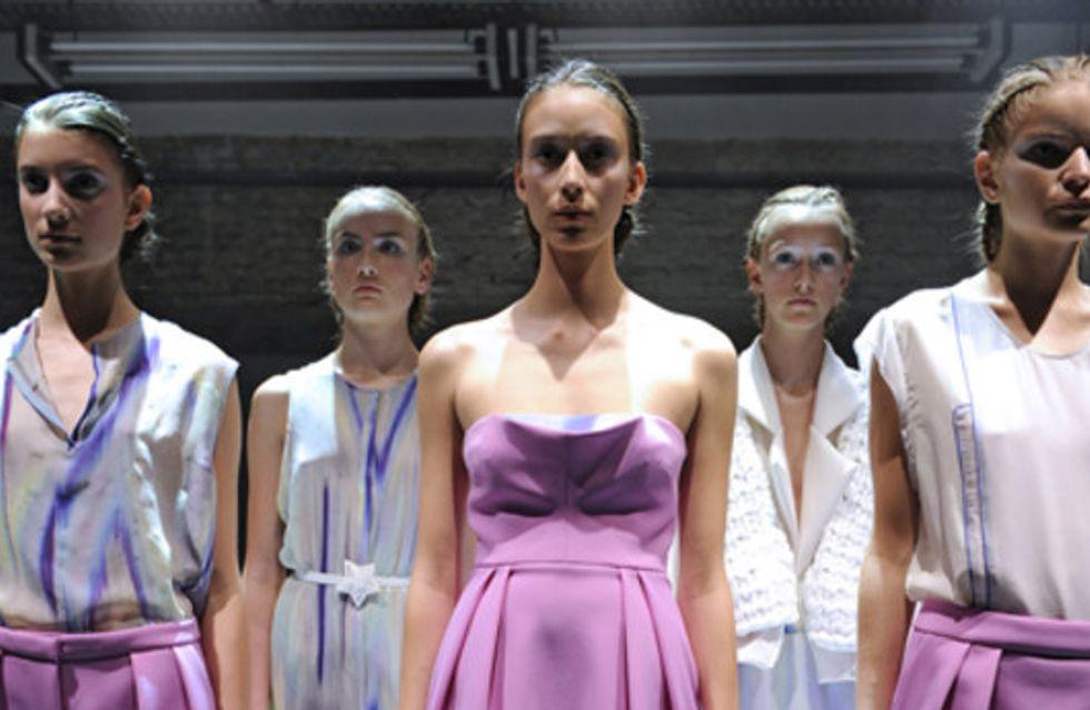 Lala Berlin: Mercedes-Benz Fashion Week Berlin Frühjahr/Sommer 2012