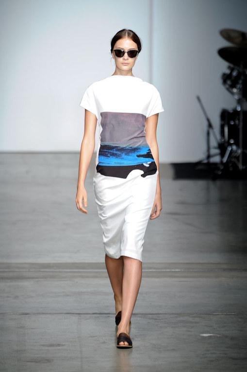 Sfilata Rachel Comey NY Fashion Week p-e 2012
