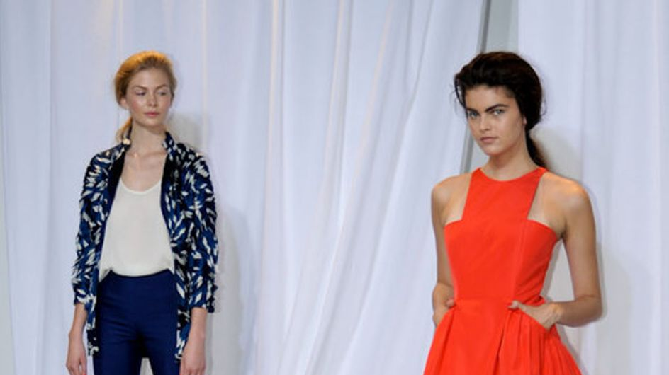 Wes Gordon New York Fashion Week Spring Summer 2012