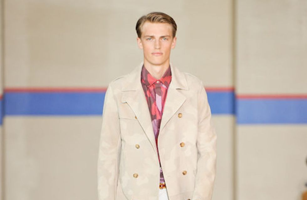 Tommy Hilfiger Menswear New York Fashion Week Spring Summer 2012