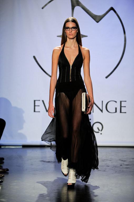 Eva Minge - NY Fashion Week Frühjahr/Sommer 2012