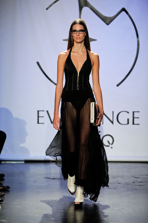 Eva Minge sfilata NY Fashion Week 2012