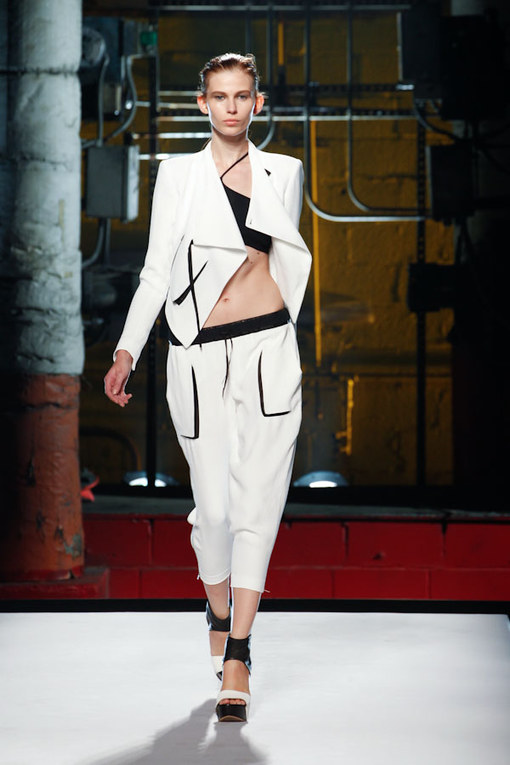 Helmut Lang New York Fashion Week Spring Summer 2012