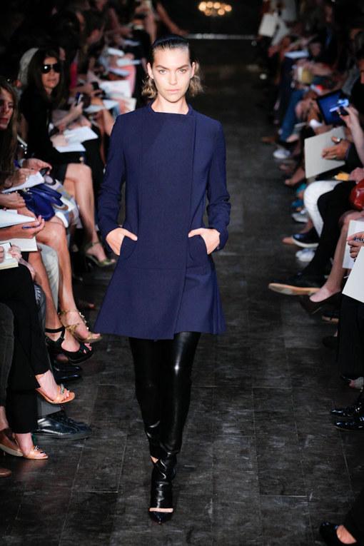 Sfilata Victoria Beckham p-e 2012 - NY Fashion Week pe 2012