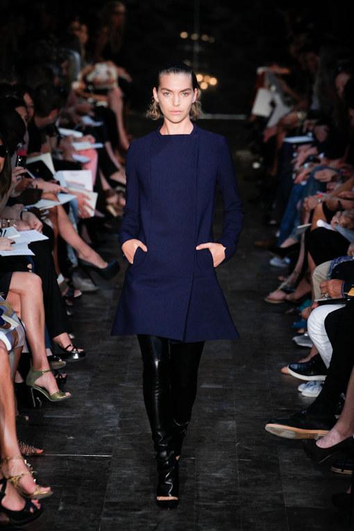 Victoria Beckham - NY Fashion Week Frühjahr/Sommer 2012