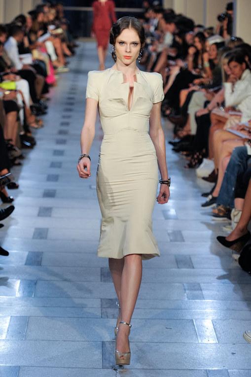Zac Posen sfilata New York Fashion Week p-e 2012